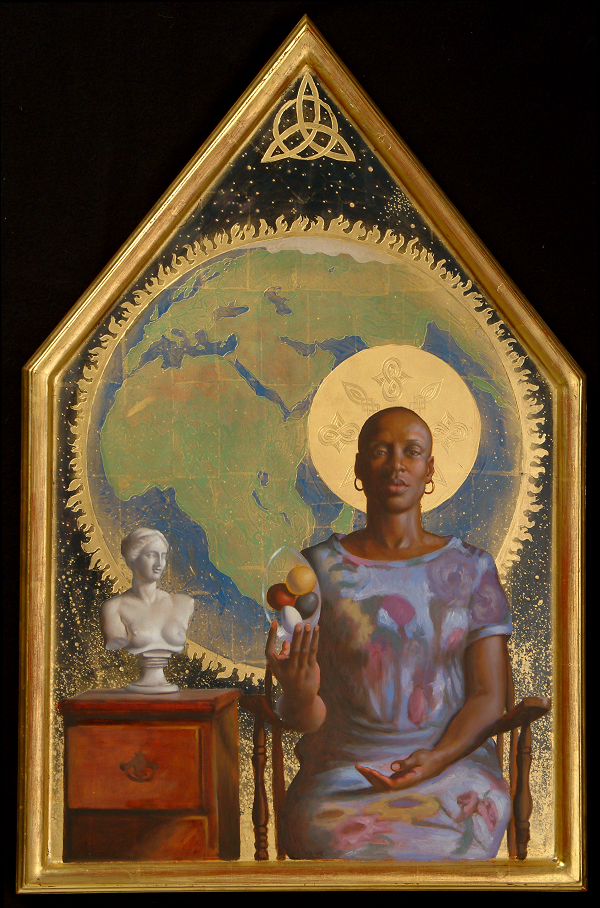 """Black Madonna"" by Artist David Hewson"