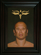"""The Buddhist"" Portrait by artist David Hewson"