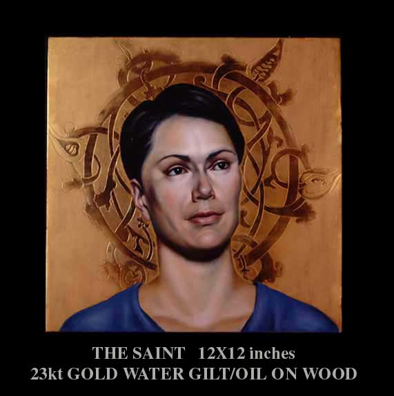 """The Saint"" by artist David Hewson"