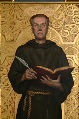 """St. Bede"" by artist David Hewson"