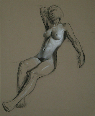 """Figure Study"" by artist David Hewson"