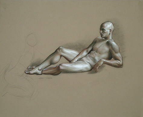 Figure Study by artist David Hewson