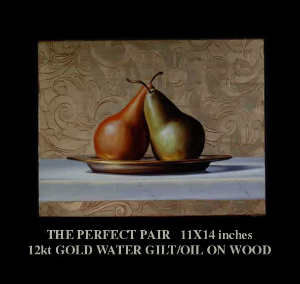 """The Perfect Pair"" Still Life by artist David Hewson"
